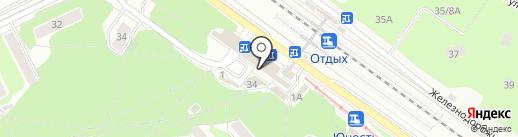 Кубышка на карте Жуковского