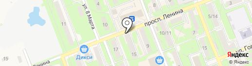 Аспект Групп на карте Красноармейска