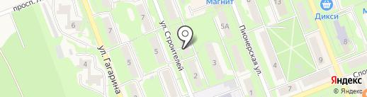 А5 на карте Красноармейска