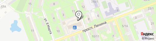 МКК Капитал-М на карте Красноармейска
