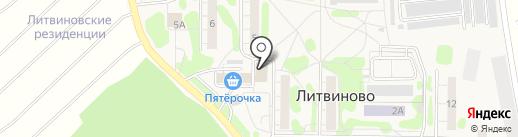ХозВед на карте Литвиново