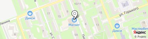 Магазин табачной продукции на карте Красноармейска