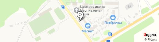 Киоск по продаже печатной продукции на карте Литвиново