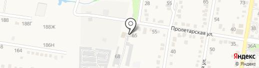 Отдел ГИБДД Отдела МВД России по Абинскому району на карте Абинска