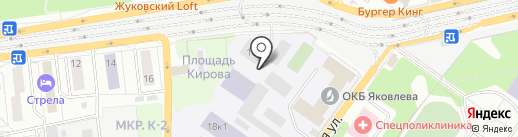 Кают-компания на карте Жуковского