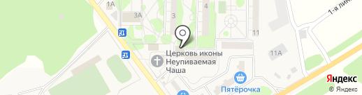 Почтовое отделение №141138 на карте Литвиново