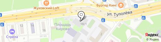 Рустехник на карте Жуковского