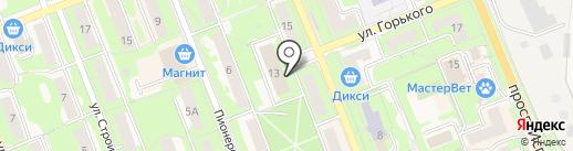 У Ручкина на карте Красноармейска