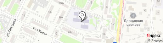 Детский сад №6 на карте Жуковского