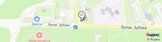 Магазин радости на карте Красноармейска