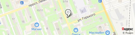 Продуктовый магазин на карте Красноармейска