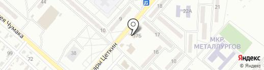 Салон мебели на карте Харцызска