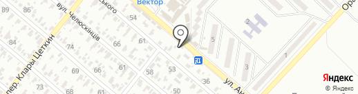 Шанс, строительный магазин на карте Харцызска