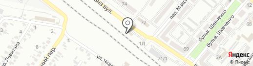 Автодом на карте Харцызска