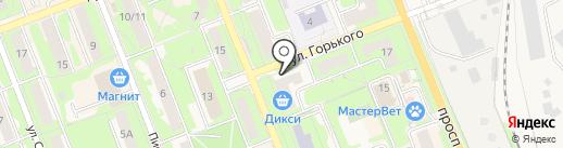 Пушкинский социально-реабилитационный центр для несовершеннолетних, ГКУ на карте Красноармейска