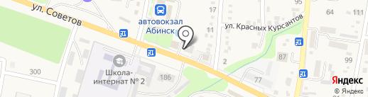 Кубаньэнергосбыт на карте Абинска