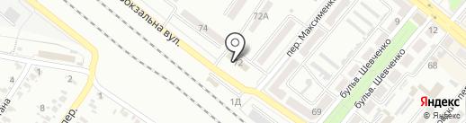 Банкомат, Райффайзен Банк Аваль, ПАО на карте Харцызска