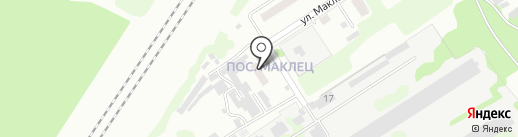 Фельдшерско-акушерский пункт на карте Новомосковска