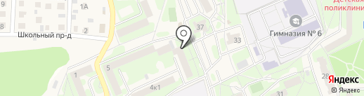 Эврика на карте Красноармейска
