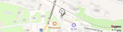Магазин ритуальных принадлежностей на карте Красноармейска