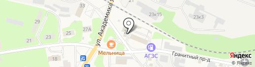 Магазин кровельных материалов на карте Красноармейска