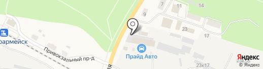 Каравелла на карте Красноармейска