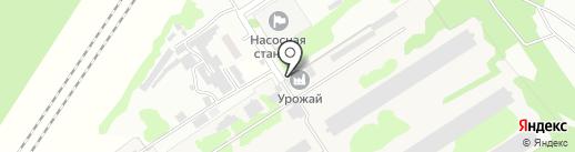 Урожай на карте Новомосковска