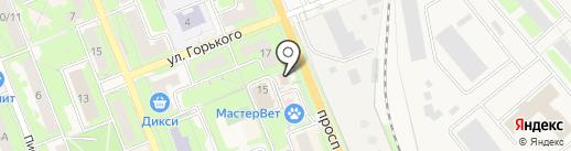 Виктория на карте Красноармейска