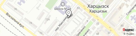 Отличник на карте Харцызска