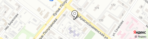 Провідна на карте Харцызска