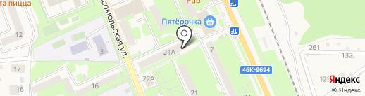 Боевое братство на карте Красноармейска