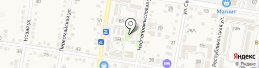 Отдел Военного комиссариата Абинского района на карте Абинска