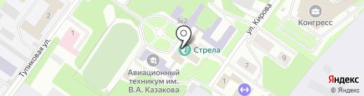 Библиотека на карте Жуковского