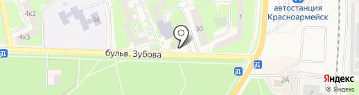 Копеечка на карте Красноармейска