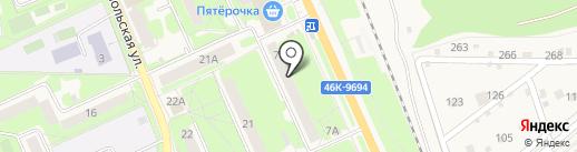 Мои документы на карте Красноармейска