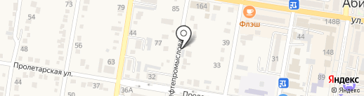 И.р.и.с. на карте Абинска