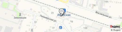 Абинская на карте Абинска