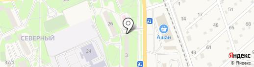 Детская поликлиника на карте Красноармейска