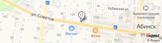 Шик на карте Абинска