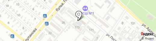 Недвижимость, агентство на карте Харцызска