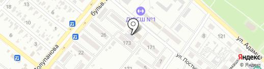 Земельный кадастр на карте Харцызска