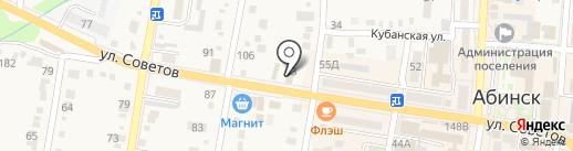 Классик на карте Абинска