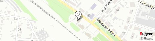 Строймаг на карте Харцызска