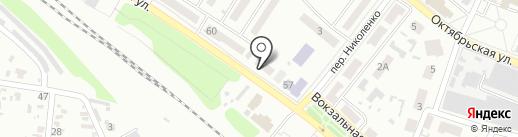 Тоника на карте Харцызска