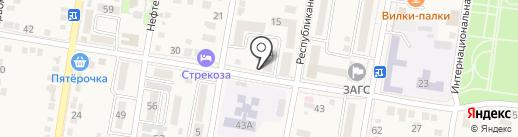 Дыхание жизни на карте Абинска