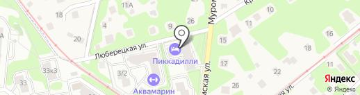 Пиккадилли на карте Жуковского