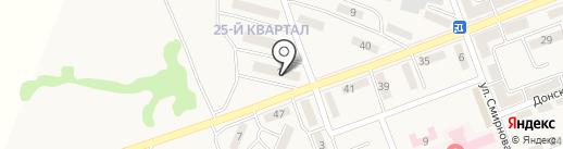 Ателье на карте Нижней Крынки