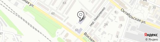Детская городская библиотека на карте Харцызска