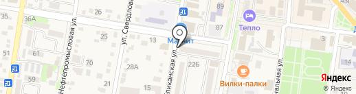 Мастерская по ремонту и пошиву обуви на карте Абинска