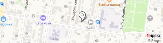 ЗАГС г. Абинска на карте Абинска
